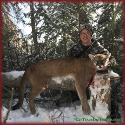 Colorado lion hunting - a guided big game hunt in Collbran Colorado