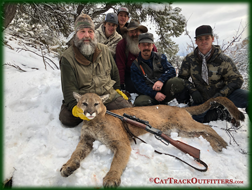 mountain  lion hunting in Western Colorado